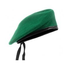 Берет зеленый пограничный бесшовный MIL-TEC