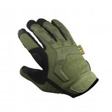 Тактические перчатки MECHANIX олива