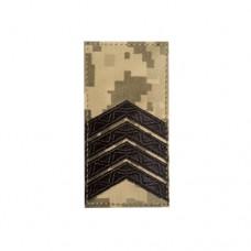 Погон пиксель(ММ14) старший сержант