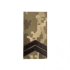 Погон Младший сержант пиксель