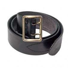 Ремень офицерский кожаный черный, портупея