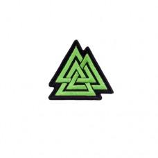Шеврон Валькнут зелёный