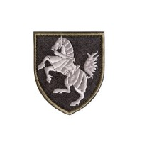 Шеврон 1-я Отдельная танковая Северская бригада полевой