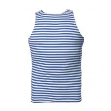 Тельняшка - майка(Тельник) ВДВ(голубая полоска), 100% х/б