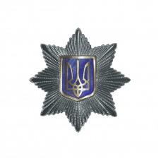 Кокарда Національної поліції  України