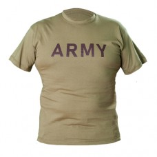 "Футболка Cooperr ""Army""  100% Cotton TAN"