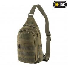 Чоловіча сумка через плече зелена M-TAC